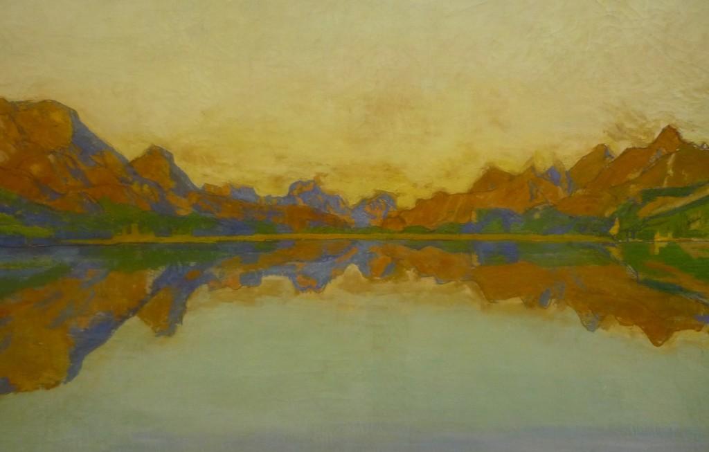 """Ferdinand Hodler: """"Der Silvaplanersee im Herbst"""" (1907), Kunsthaus Zürich"""