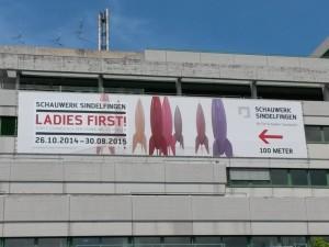 """Werbebanner zu """"Ladies First!"""""""