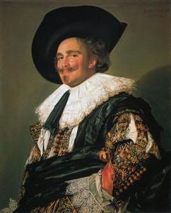 "Frans Hals: ""Der Lachende Kavalier"" (1624) Wallace Collection, London"