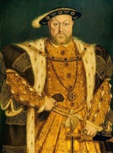 "nach Hans Holbein d.J.: ""Heinrich VIII."" (ca.1538-47) Royal Collection, Windsor Castle"