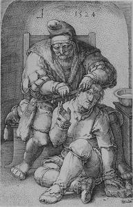 "Lucas van Leyden: ""Chirurg"" (1524)"