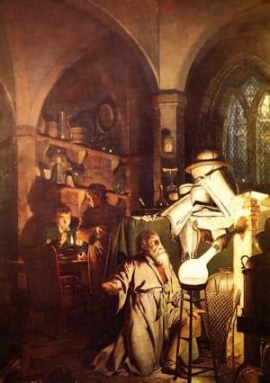 Joseph Wright of Derby: Der Alchemist