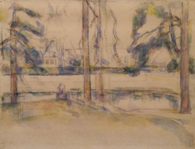 CezanneKarlsruhe_Fontainebleau